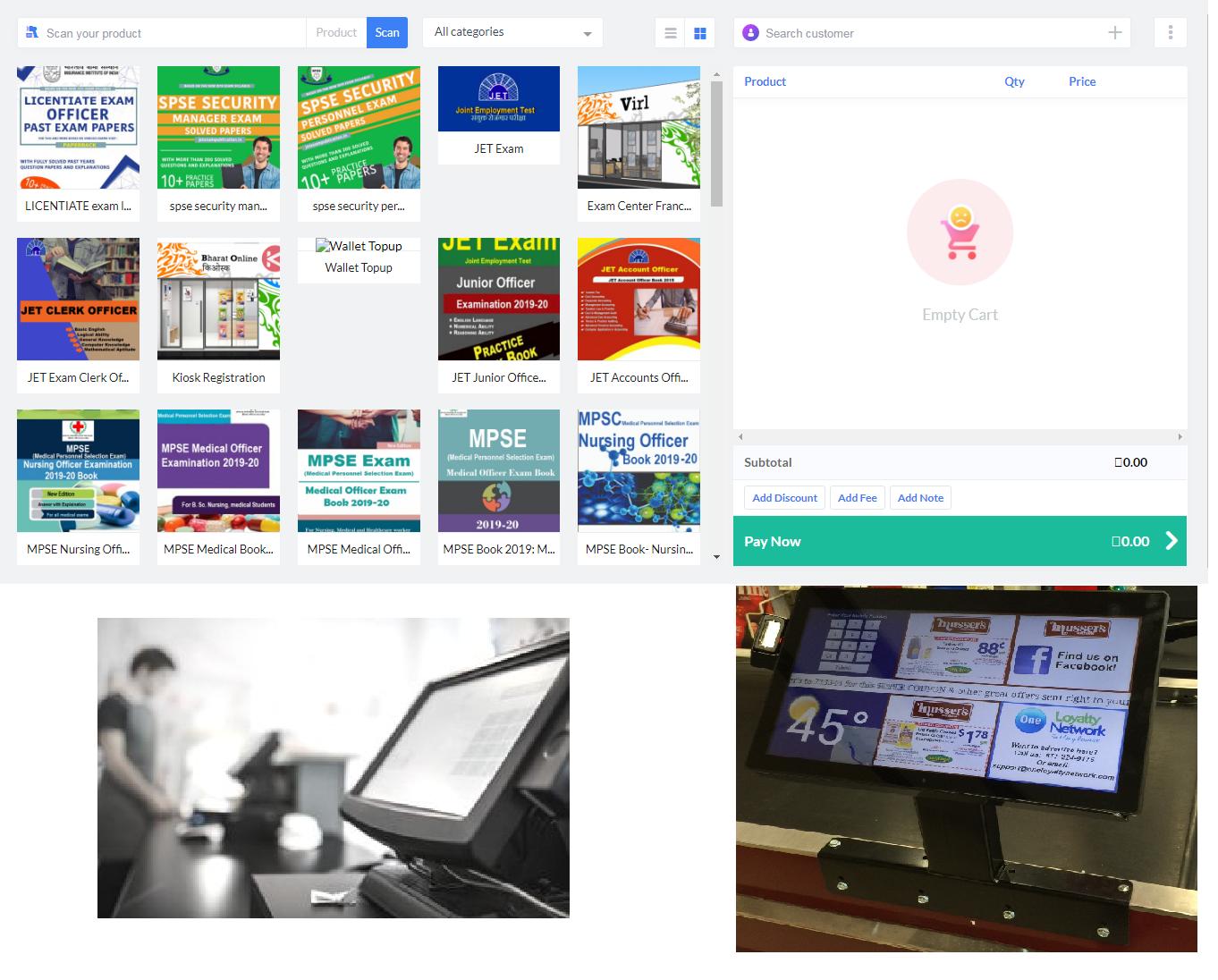 kiosk desk bharat online